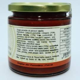 sos gotowy do miecznika 220 g Campisi Conserve - 2