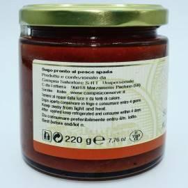 Schwertfisch fertig Sauce 220 g Campisi Conserve - 4