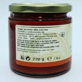sauce prête au groupe 220 g Campisi Conserve - 4