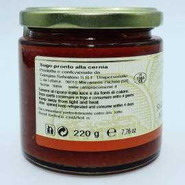 sos gotowy grouper 220 g Campisi Conserve - 4