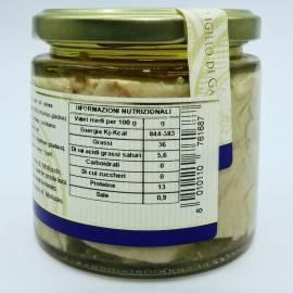 filetes de pez espada en aceite de oliva 220 g Campisi Conserve - 4