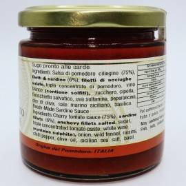 molho pronto da Sardenha 220 g Campisi Conserve - 3