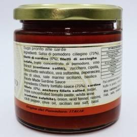 sardische Fertigsauce 220 g Campisi Conserve - 3