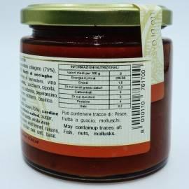 sos sardyński 220 g Campisi Conserve - 4