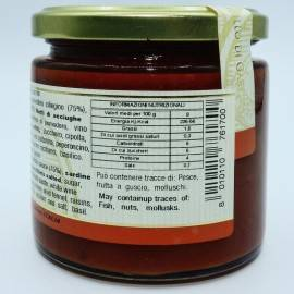 ready-made sardine sauce 220 g Campisi Conserve - 4