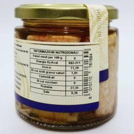 amberjack à l'huile d'olive 220 g Campisi Conserve - 4
