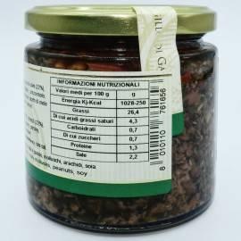 черный оливковый паштет 220 г Campisi Conserve - 4