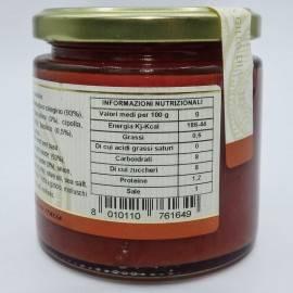 sauce prête à l'eau menthe et basilic 220 g Campisi Conserve - 3