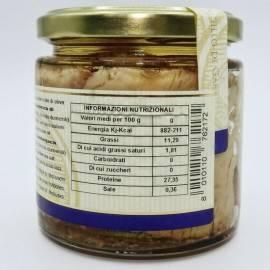 ventre de sériole à l'huile d'olive 220 g Campisi Conserve - 4