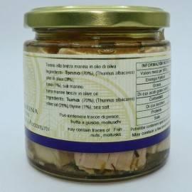 sea breeze tuna in olive oil 220 g Campisi Conserve - 3
