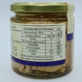 thon brise de mer à l'huile d'olive 220 g Campisi Conserve - 4