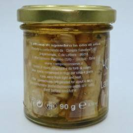 sałata makrela w oliwie z oliwek 90 g Campisi Conserve - 2