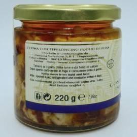 mero con chile en aceite de oliva 220 g Campisi Conserve - 2