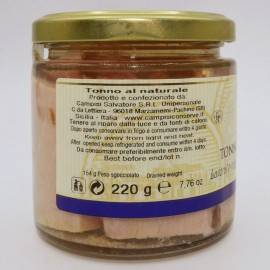 atum natural 220 g Campisi Conserve - 3