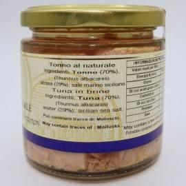 atum natural 220 g Campisi Conserve - 2