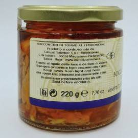 bocados de atún chile 220 g Campisi Conserve - 2