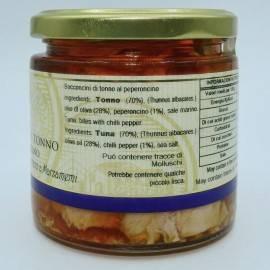 bocados de atún chile 220 g Campisi Conserve - 3