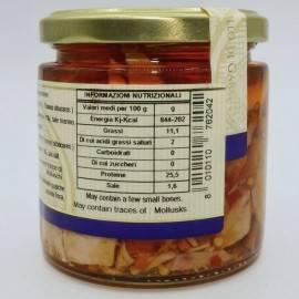 bocados de atún chile 220 g Campisi Conserve - 4