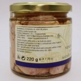vientre de atún en aceite de oliva 220 g Campisi Conserve - 3