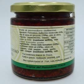 fecha paté de tomate 220 g Campisi Conserve - 3