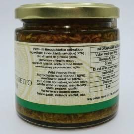 pasztet z dzikiego kopru włoskiego 220 g Campisi Conserve - 3