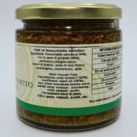 paté de hinojo salvaje 220 g Campisi Conserve - 3