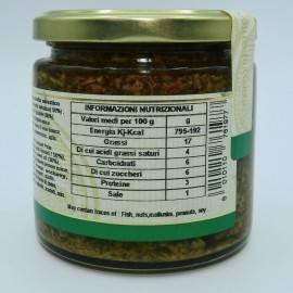 pâté de erva-doce selvagem 220 g Campisi Conserve - 4