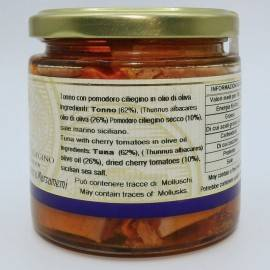 atum com tomate cereja em azeite 220 g Campisi Conserve - 3