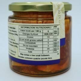 тунец с помидорами черри в оливковом масле 220 г Campisi Conserve - 4