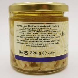 Vivaneau méditerranéen à l'huile d'olive 220 g Campisi Conserve - 2