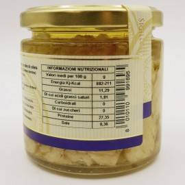 Pargo mediterráneo en aceite de oliva 220 g Campisi Conserve - 3