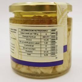 Śródziemnomorska snapper w oliwie z oliwek 220 g Campisi Conserve - 3