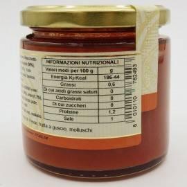 sauce prête à l'eau avec tomate cerise et fenouil 220 g Campisi Conserve - 4