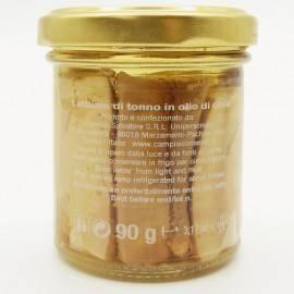 fumier de thon à l'huile d'olive 90 g Campisi Conserve - 2