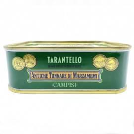tarantello de atún rojo en aceite de oliva 340 g Campisi Conserve - 2