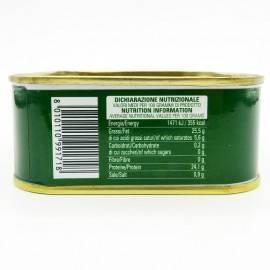 tarantello de atún rojo en aceite de oliva 340 g Campisi Conserve - 3