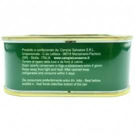 tarantello di tonno rosso in olio d'oliva 340 g Campisi Conserve - 4
