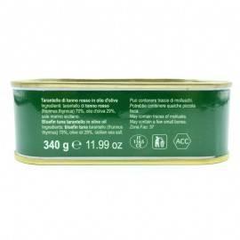 tarantello de atún rojo en aceite de oliva 340 g Campisi Conserve - 5