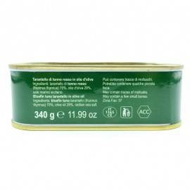 tarantello di tonno rosso in olio d'oliva 340 g Campisi Conserve - 5