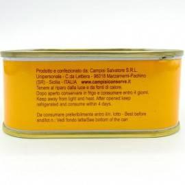 bluefin tuna ventresca(tuna belly) in olive oil 340 g Campisi Conserve - 3