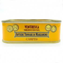 vientre de atún rojo en aceite de oliva 340 g Campisi Conserve - 2
