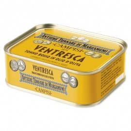 vientre de atún rojo en aceite de oliva 340 g Campisi Conserve - 1