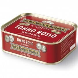 bluefin tuna in olive oil 340 g Campisi Conserve - 1