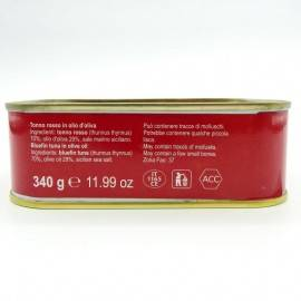 Roter Thun in Olivenöl 340 g Campisi Conserve - 4