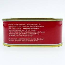 atún rojo en aceite de oliva 340 g Campisi Conserve - 5