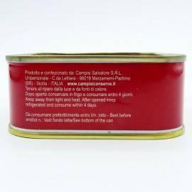 bluefin tuna in olive oil 340 g Campisi Conserve - 5