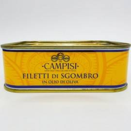 филе скумбрии в оливковом масле 340 г Campisi Conserve - 2