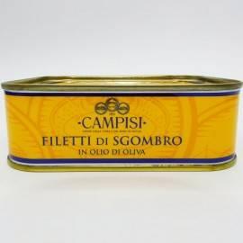 filetes de caballa en aceite de oliva 340 g Campisi Conserve - 2