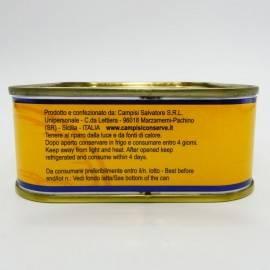 filety z makreli w oliwie z oliwek 340 g Campisi Conserve - 3