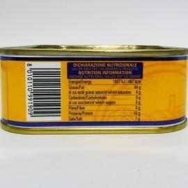filetes de caballa en aceite de oliva 340 g Campisi Conserve - 5